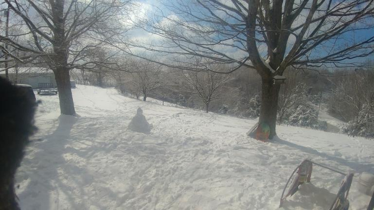Snow Buddha 2-19-21