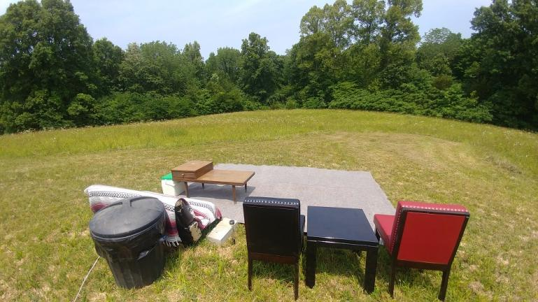 The Living Room for Firefly Viewing 6-4-19