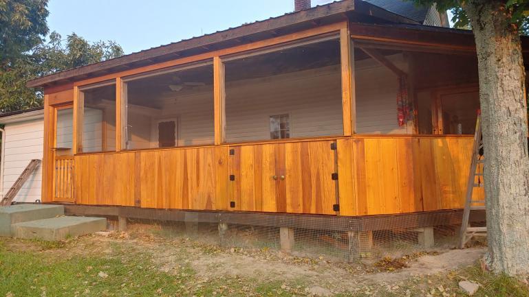 Porch Progress 9-12-21