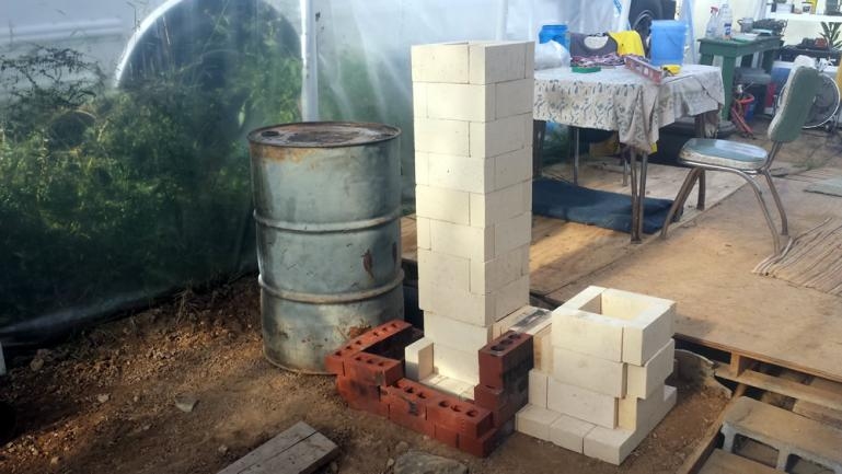another Test Stack of Fire Brick