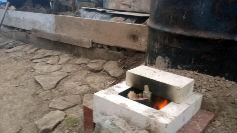 test fire