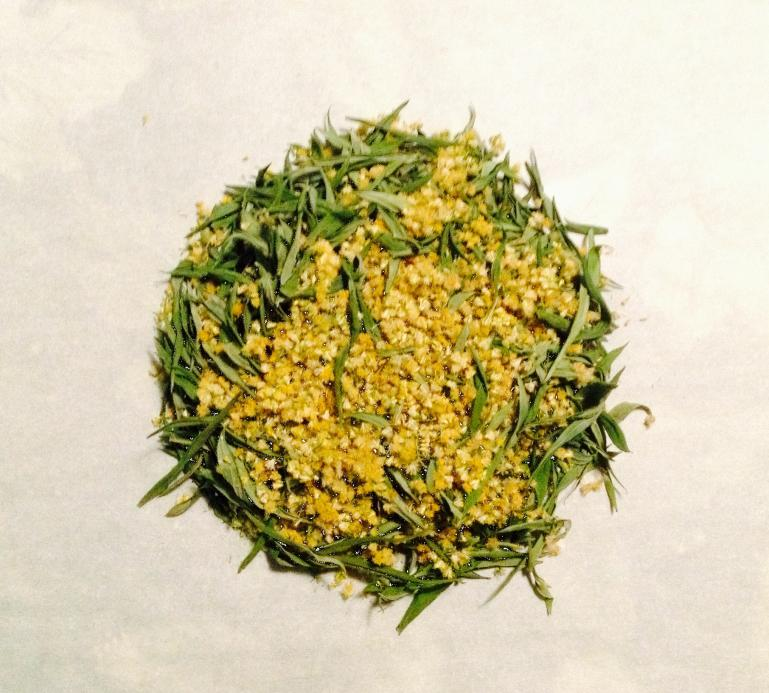 wildcrafted golden rod for medicinal infusion (or tea)