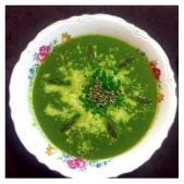 spinach asparagus soup