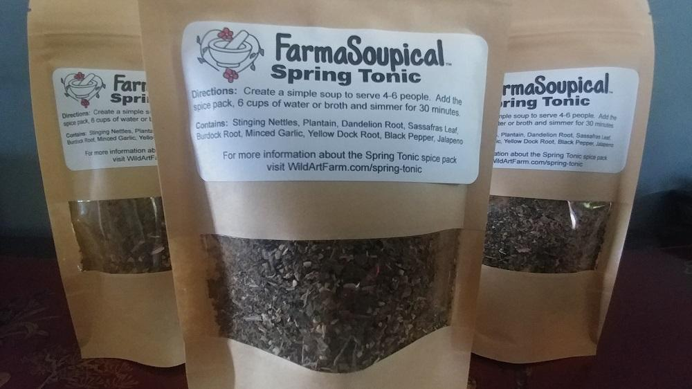 FarmaSoupical Spring Tonic Soup Seasoning Pack