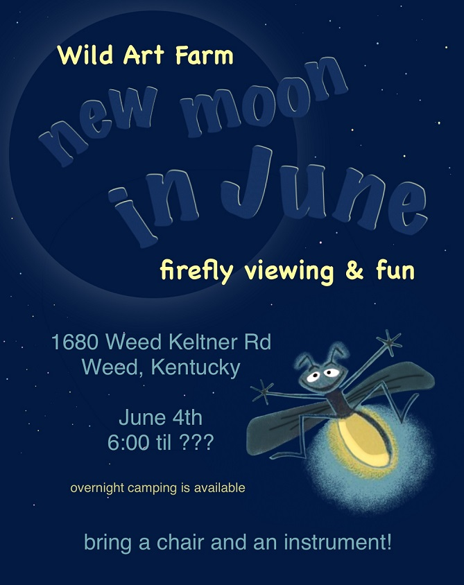 New Moon in June - Flire Fly Viewing Party