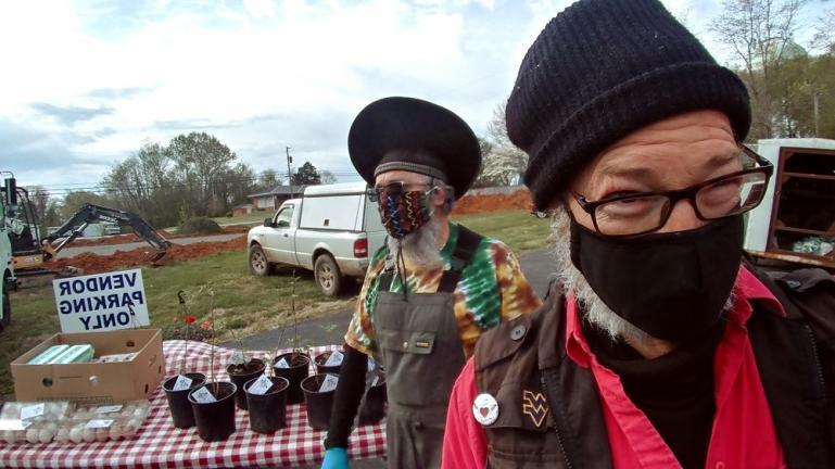 Farmers Market Ninjas in Edmonton 4-17-20