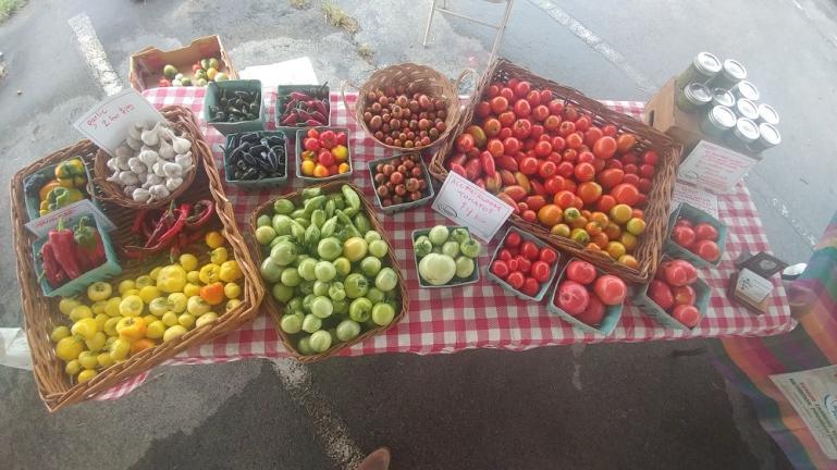 Last Farmers Market of the season.  10-12-19
