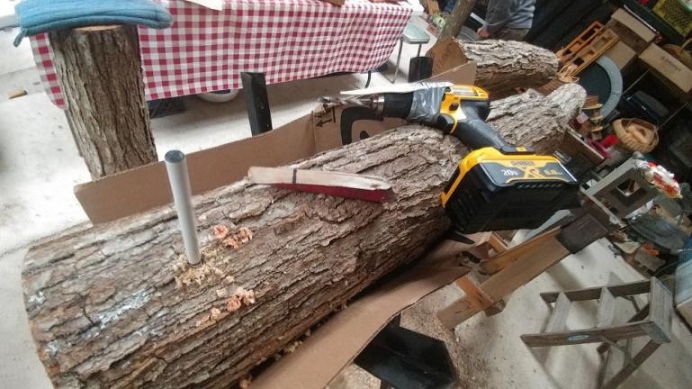 Mushroom Log Drilling Tools