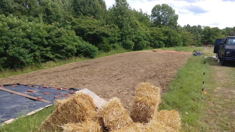 40 x100ft of fresh no til mulch dirt - June 20th