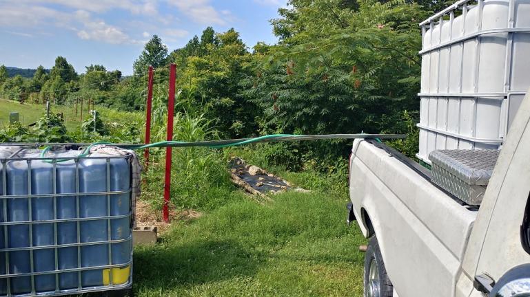 Rain Water Irrigation Transfer