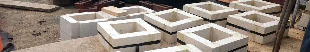Refractory Cemented Fire Stack Sections
