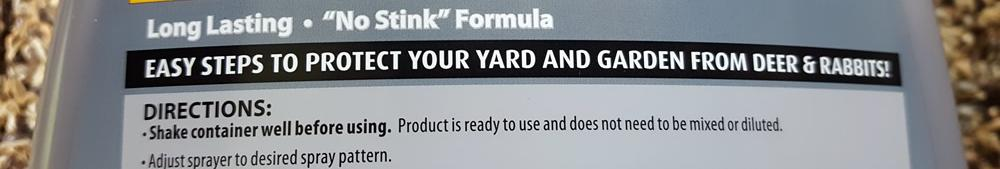 Spray the whole plant but don't let any get on your food crops... what do they think you're trying to protect?