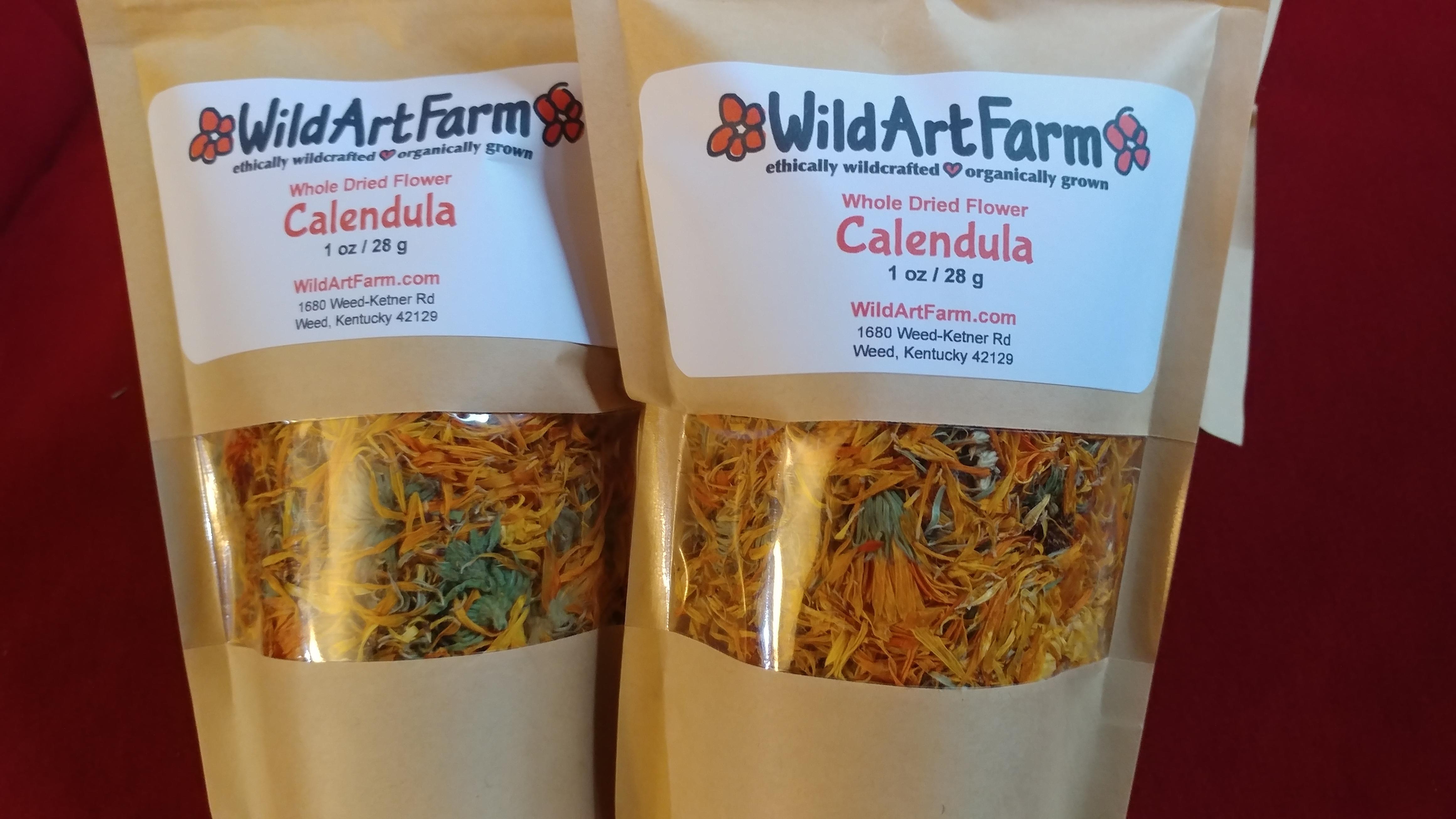 dried Calendula Flower packs